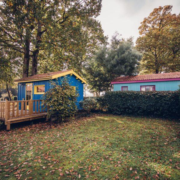Location cabane camping du parc Etaules Royan